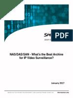 San and NAS for CCTV