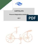 Capitolato - Prove Di Diagnostica Strutturale - 2017