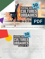 Festival des cultures urbaines 2018