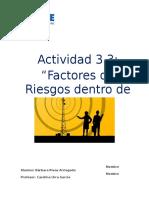 Trabajo 3.3 Bienestar y Prevención de Riesgos Bárbara Rivas