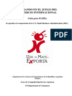 Guía Para Pequeñas Empresas Exportadoras - US-SBA Versión Final