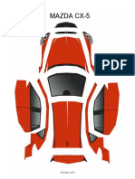 Mazda CX-5 Pepakura