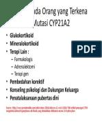 Terapi Pada Orang Yang Terkena Mutasi CYP21A2