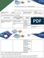 Guia de Actividades y Rúbrica de Evaluación - Fase 3 - Trabajo Colaborativo