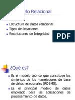 DBD Clase Modelo Relacional UPC