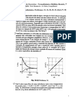 Física II - Lista de Exercícios - Termodinâmica