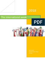 international week report