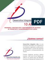 Brochure  Desarrollos Integrales  Ltda