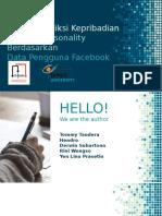 Sistem Prediksi Kepribadian Big Five Personality Berdasarkan Data Pengguna Facebook