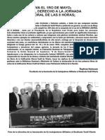 Boletín 1ro de Mayo Ate Vitarte 2018