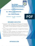 Diapositivas de Proyecto de Grado Kleber Franco