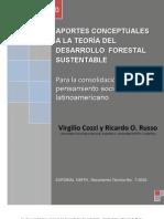 Aportes conceptuales a la teoría del desarrollo forestal sustentable - Virgilio Cozzi y Ricardo O. Russo