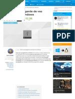 Faire Une Sauvegarde de Vos Fichiers Avec Windows – Le Crabe Info – Le Crabe Info