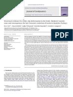 Artículo de Estudio Para Geología Estructural y Aplicada