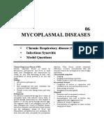 06. Mycoplasmal Dis Poultry