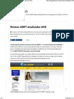 Normas ABNT Atualizadas 2017 Para Trabalhos Acadêmicos (TCC)