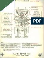 Lubrication Guide - Regent 1951