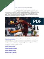Prediksi Bola as Roma vs Juventus 14 Mei 2018