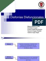 Presentación Disfonías Disfuncionales Listo