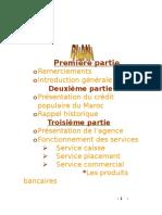 Rapport De Stage - Banque Populaire - Présentationn de la Banque (Initiation).doc