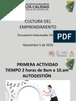 Encuentro Virtual ,5 de Noviembre