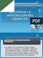 Gestion de integration de proyectos