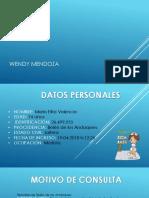 Caso Clinico Wendy Mendoza