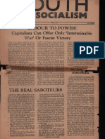 Youth for Socialism v3 No8 May 1941