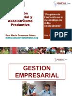 Gestion Empresarial y Asociativismo Productivo