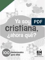 Ya Soy Cristian@ 10 Devocionales
