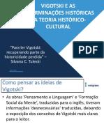 Slides PHC - Para Ler Vigotski