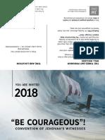 2018 Convention Invitation