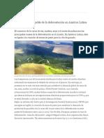 Carne de Res, Culpable de La Deforestación en América Latina