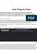 %22There Is No Such Thing As Time%22 | Popular Science.pdf