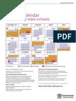 2018 School Calendar