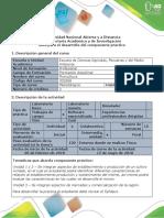 Guía de Actividades y Rubrica de Evaluación - Actividad 5 y 6 - Desarrollo Del Componente Práctico
