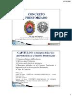 Concreto Presforzado UNSA Capitulo I 2017