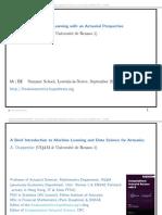 machine learning explained slides