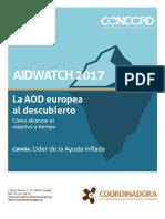 Resumen Ejecutivo Informe AidWatch