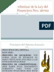 Principios Del Sistema Financiero
