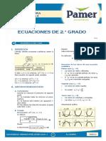 X_Sem 2 - ecuaciones de 2 grado
