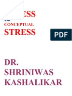 Stress and Conceptual Stress Dr. Shriniwas Kashalikar