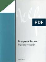 Pulsión y Ficción - Francoise Samson