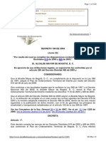 Decreto 190 Del 2004