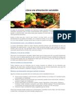 Ecuador Promociona Una Alimentación Saludable