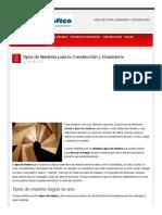 Arquigrafico Com Tipos de Maderas Para La Construccion y Ebanistera