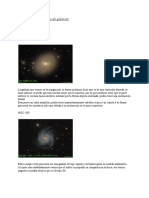clasification of galaxies