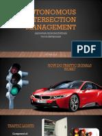 Autonomous Intersection Management  - Automated Systems