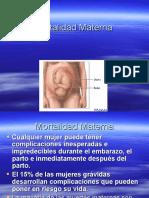G1C1 - Mortalidad Materna (M)
