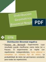 Exposicion Distribucion Geometrica y B Negativa